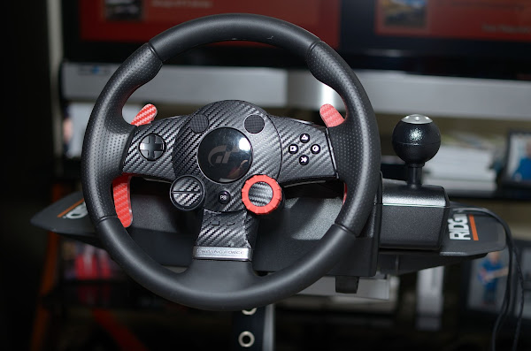 Outside the Cubicle: Motorsports to Gaming: My DIY, budget, portable
