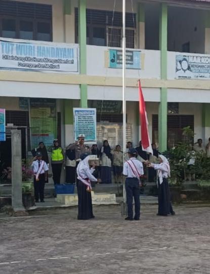 Polres Tanjung Balai, Police Go To School di SMP N 12 Kota Tanjung Balai