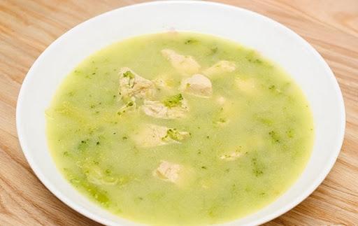 Soup kem bông cải xanh