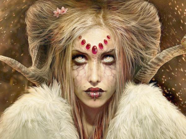 White Blind Demon, Demonesses