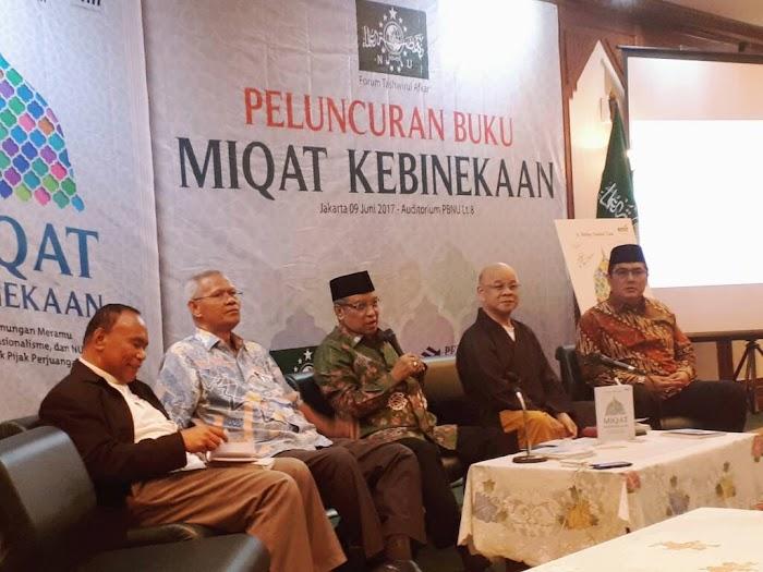 "Peluncuran Buku ""Miqat Kebhinekaan"" Dihadiri Oleh Para Tokoh Agama"