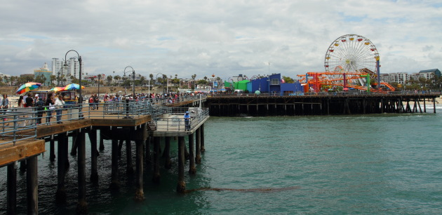 Fishing, Fun, Beach, Eating, Route 66 and more at Santa Monica