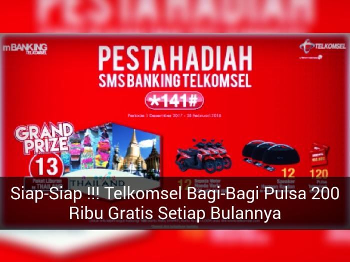 Siap Siap Telkomsel Bagi Bagi Motor Honda Vario 125 Dan Pulsa 200