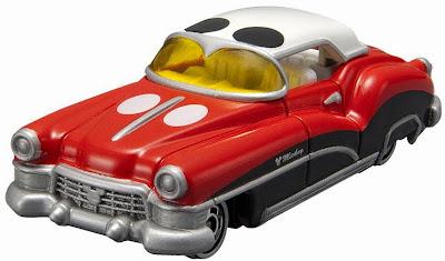 Disney Motors DM-01 Dream Star II với màu sắc đặc trưng của chuột Mickey