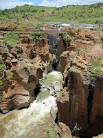 Bourkes Luck Potholes, Drakensburg Escarpment, South Africa
