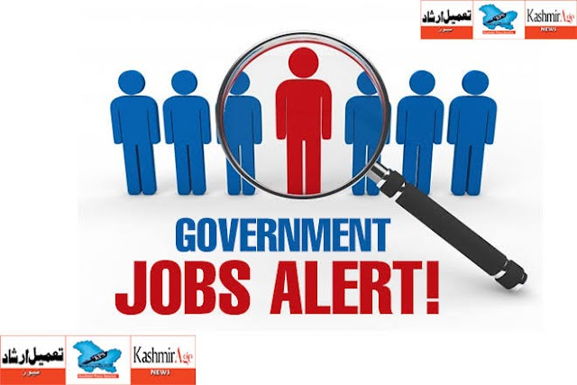 UMEED J&K State Rural Livelihoods Mission Filling up of contractual posts