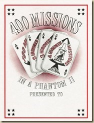 xPhantom II 400 Missions Certificate