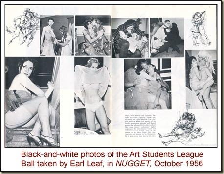 NUGGET, Oct 1956 - Earl Leaf B&W photos