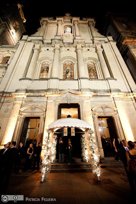 Foto de casamento 0631 de Paula e Bernardo. Marcações: 16/10/2010, Casamento Paula e Bernardo, Igreja, Igreja Nossa Sra do Carmo Antiga Se, Rio de Janeiro.