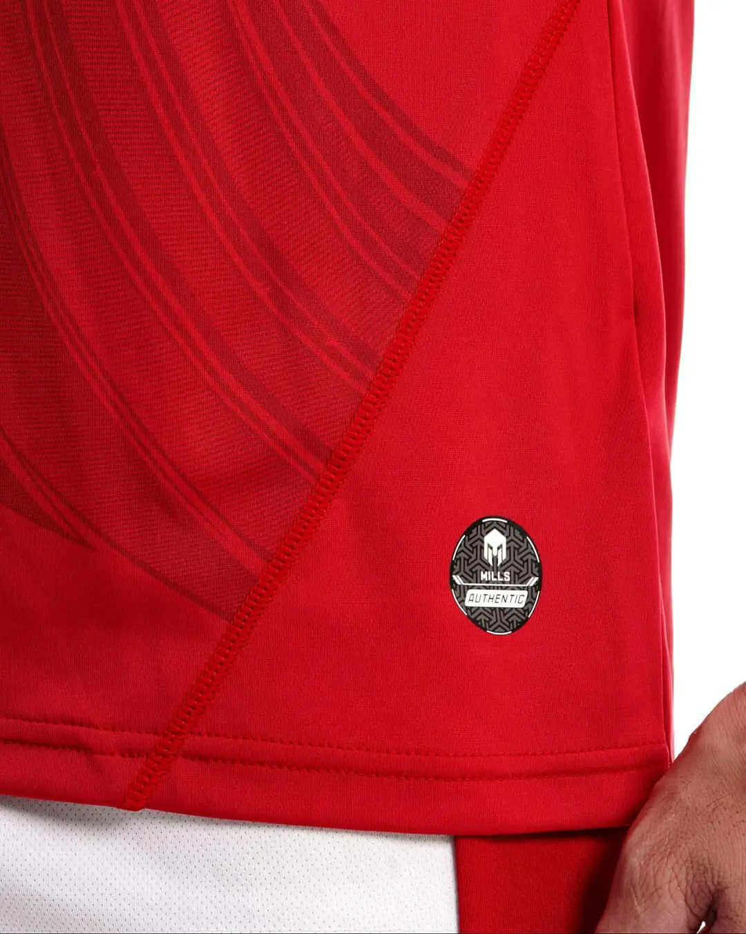gambar detail review Jersey timnas Indonesia 2020 x mills