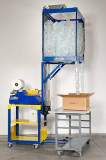 緩衝氣墊送料系統