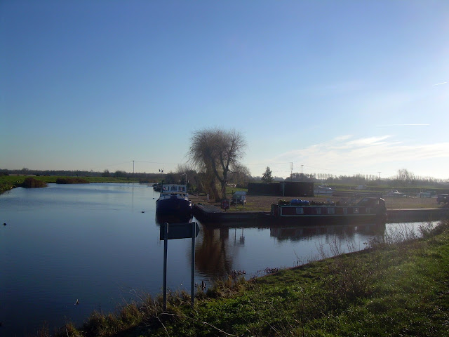 The Cam meets the Great Ouse at Pope's Corner