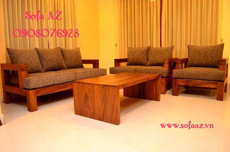 Nệm ghế sofa gỗ bằng da bò, nệm salon simili cao cấp Thủ Đức