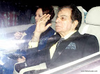 Saira Banu and Dilip Kumar at SRK Edi Party 2013. pic/ yogen shah