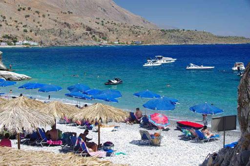 La très belle plage de Marmara (Μαρμαρά).
