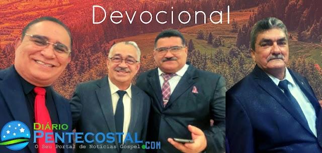 """Devocional """" Pensemos em como motivar uns aos outros na prática do amor e das boas obras"""" Pr. Luiz Carlos"""