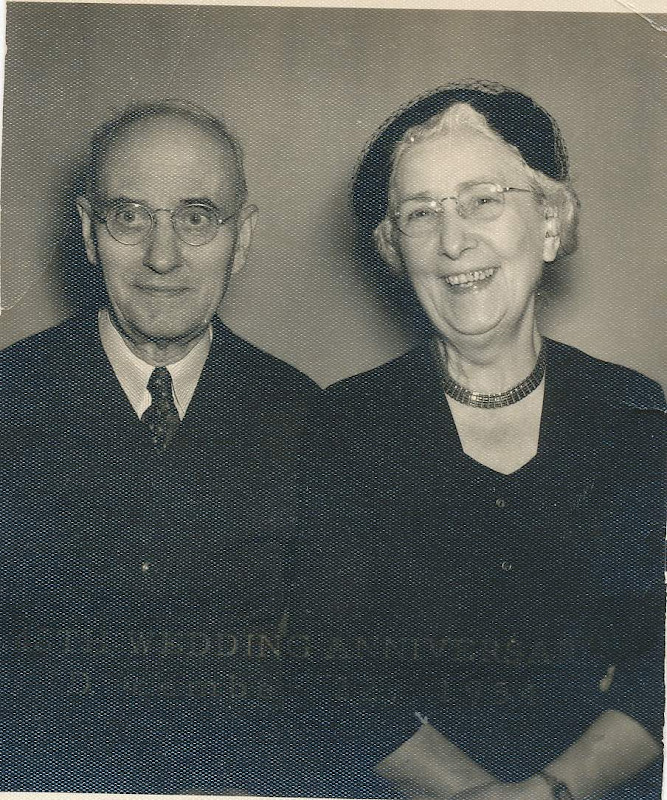 Aunt Meal (Amelia) and Uncle Fred Fuhrmann