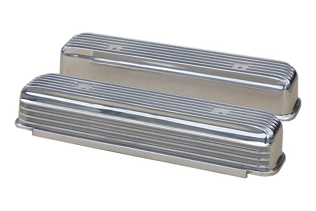 Polished, fits all nailheads.  455.00 plus 20.00. Most valve covers can be machined for  PCV grommets, call.