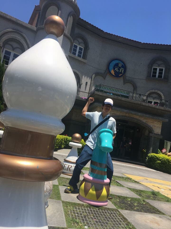 king's garden castle themed bakery puli nantou Taiwan amwd couple