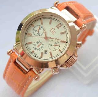 jam tangan Gc date ring rosegold