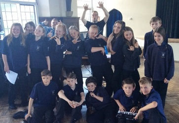 Rap and rugby at school