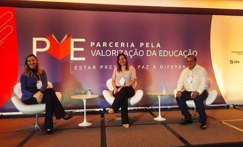Divaldo Barros participa de encontro de secretários em São Paulo promovido pelo Instituto Votorantim