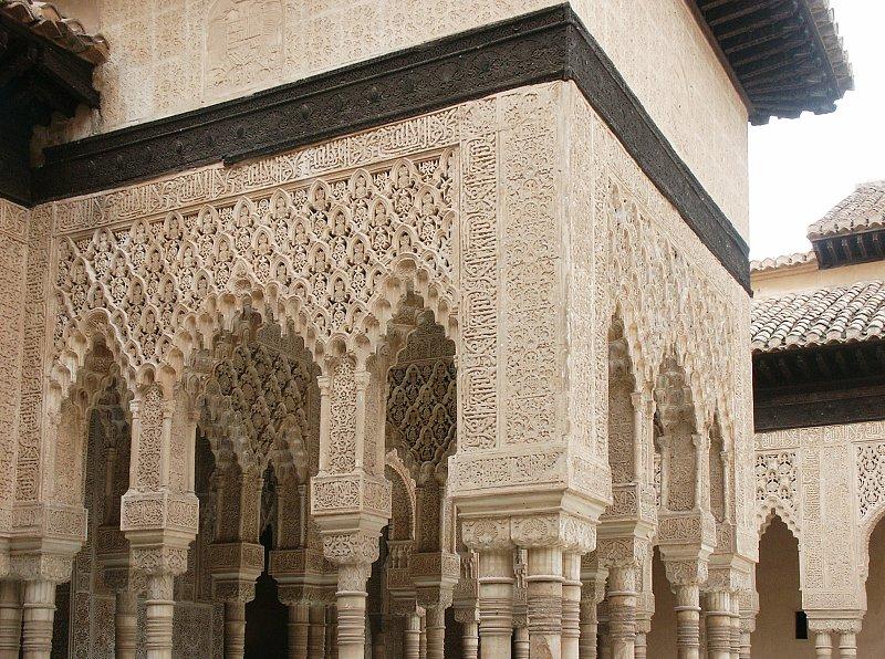 arabesque arches and pillars - photo #13