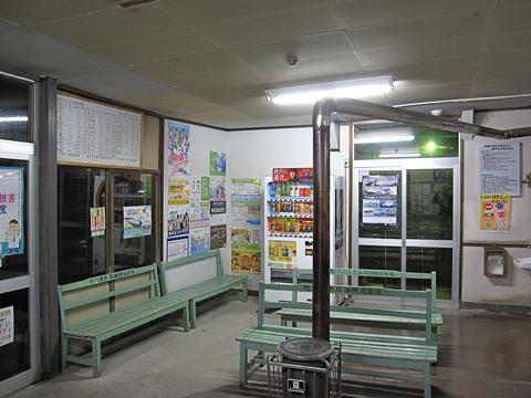 函館バス 江差ターミナル 待合所 その1