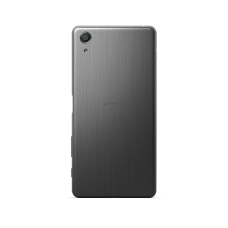 Xperia X Performance Black Back.png