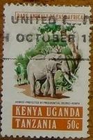 timbre Kenya Ouganda tanzanie 001