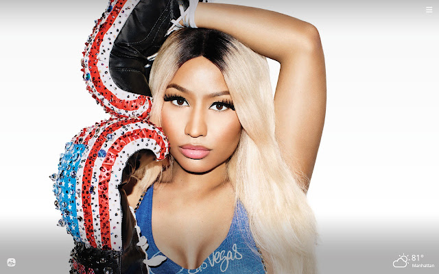 Nicky Minaj HD Wallpapers New Tab