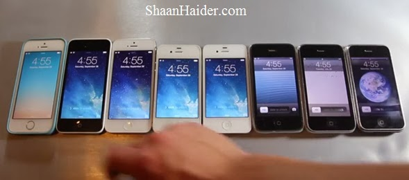 Comparison of Every iPhone Ever Released in One Speed Test Video