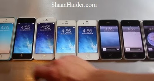 how to speed up iphone 5 comparison of every iphone released in one speed test 19108