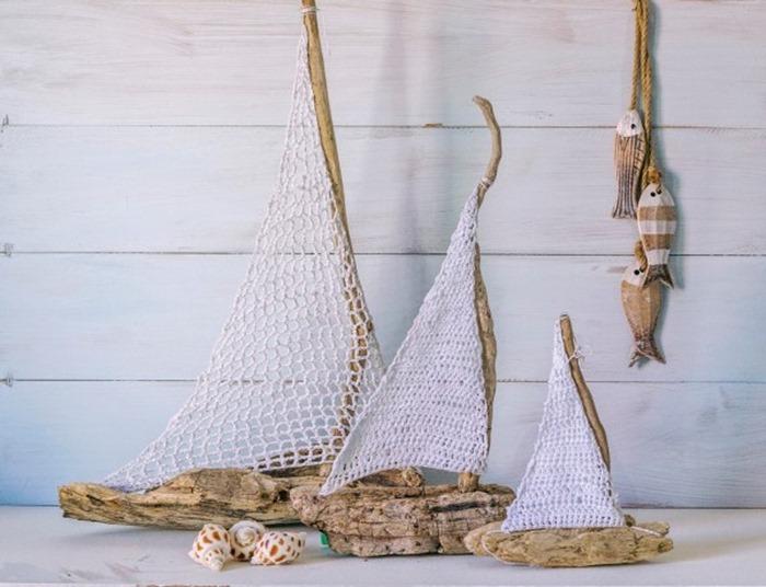 Driftwoodcrochetsailboats-600x459