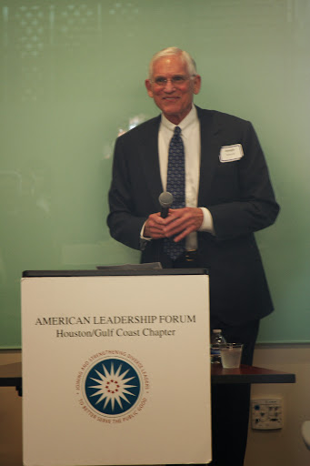 Joseph Jaworski at book launch