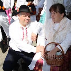 Krojované hody ženáčů v Ostrožské Lhotě 2012