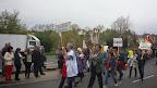 Bilder vom Festumzug zur 750 Jahrfeier Colditz