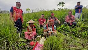 DAD Kapuas Dukung Ritual Pomang Nosu Minu Podi Di Dusun Sanjan