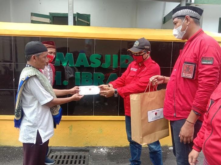 Aksi Serentak Bagi Masker Tempat Ibadah Se-Jogja, PDIP Ajak Perangi Covid-19 Saat Ramadhan
