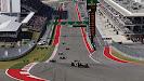 Romain Grosjean, Lotus E21 Renault, leads Lewis Hamilton, Mercedes W04, and Mark Webber, Red Bull RB9 Renault