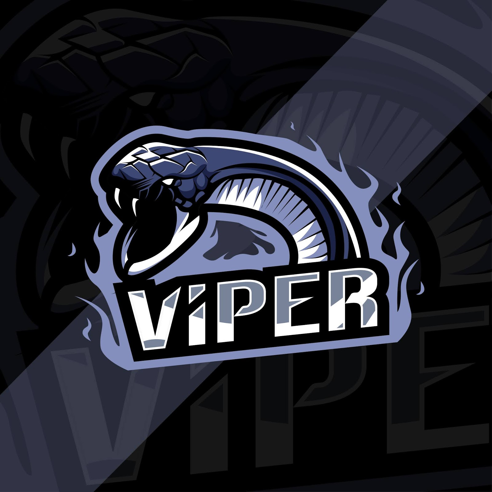 Viper Mascot Logo Funny Free Download Vector CDR, AI, EPS and PNG Formats