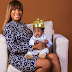 GhenGhen: Linda Ikeji Finally Reveals The Father of Her Son and Speaks on the Relationship between Them as She Steps Out With The Baby [Photos]