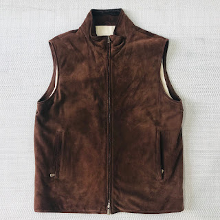 Loro Piana Suede Leather Vest