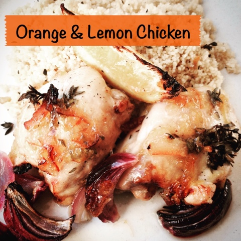 Foodie Quine - Orange & Lemon Chicken Traybake Recipe