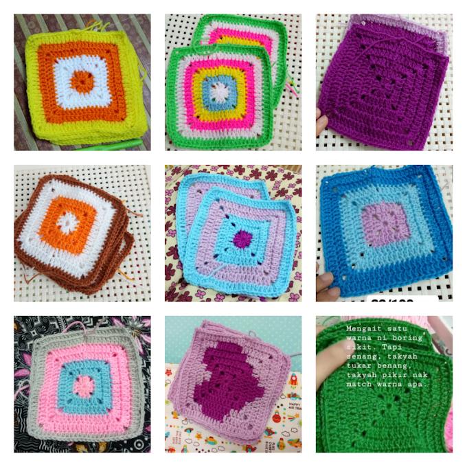 Update Projek Amal Granny Square