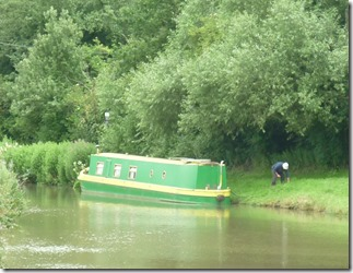 14 dave re-mooring empty boat