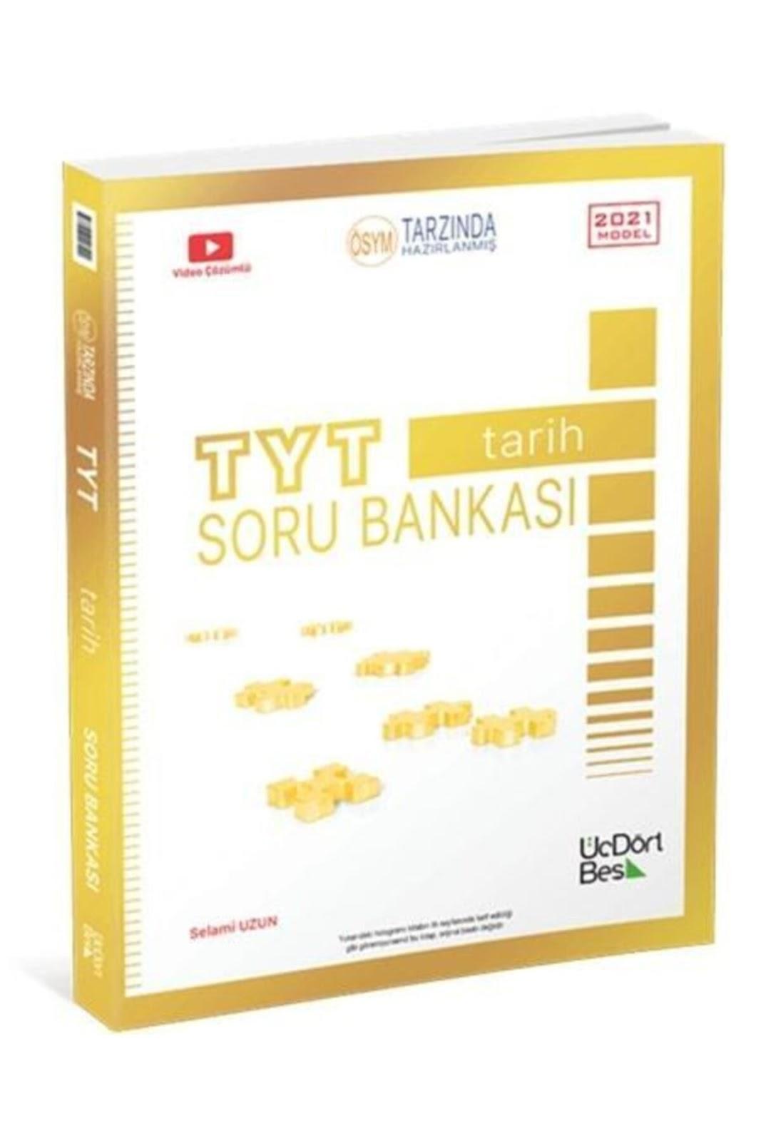 345 Yayınları - TYT Tarih - Soru Bankası