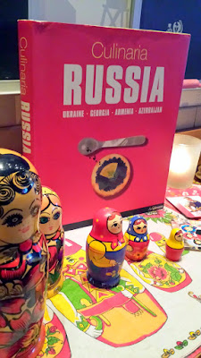Check out some of the tchotchkes along the countertop as you walk towards the tables of DaNet Russian Pop Up