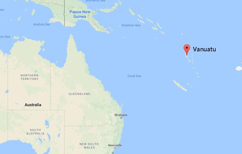 Vanuatu-map