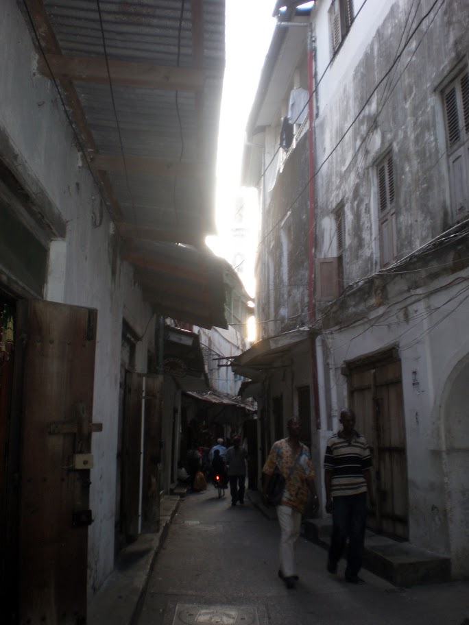 Labyrinthe of narrow streets, Stone Town, Zanzibar